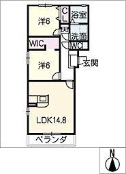 仮)S様賃貸マンション[3階]の間取り