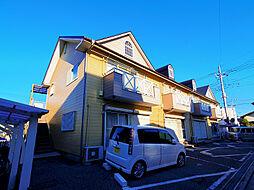 埼玉県新座市畑中1丁目の賃貸アパートの外観