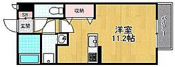 プランギ私部 II[2階]の間取り