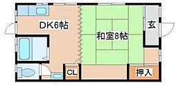 [一戸建] 兵庫県神戸市長田区神楽町6丁目 の賃貸【/】の間取り