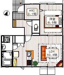 コンフォートハウスウィズ[1階]の間取り