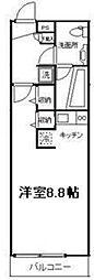リブリ・スカイIII[2階]の間取り