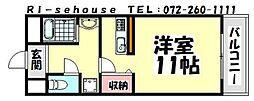 イズミ82[1003号室]の間取り