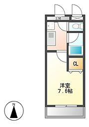 メゾン社台[3階]の間取り