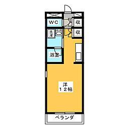 サンアイハイツ[3階]の間取り