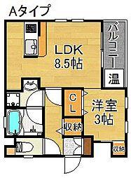 Casa Viento[2階]の間取り