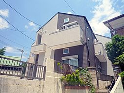 神奈川県川崎市多摩区東三田1丁目の賃貸アパートの外観