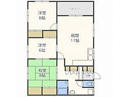 KINOSU15[2階]の間取り