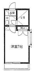 湘南サクラメント[2階]の間取り
