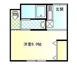 らくじゅ沼津足高館[0201号室]の間取り