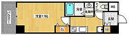 京都府京都市山科区竹鼻竹ノ街道町の賃貸マンションの間取り