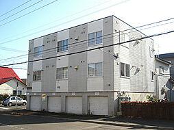 北海道札幌市東区北二十六条東18丁目の賃貸アパートの外観
