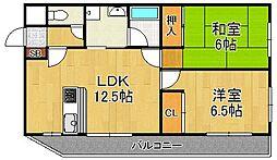 メゾン・ド・レグルス[3階]の間取り