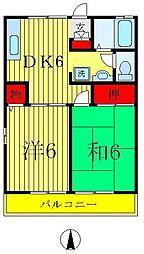 [テラスハウス] 東京都葛飾区西水元2丁目 の賃貸【/】の間取り