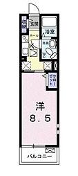 千葉県市川市本行徳の賃貸マンションの間取り
