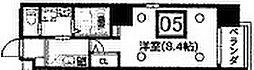 ウエンズ大阪城北[905号室]の間取り