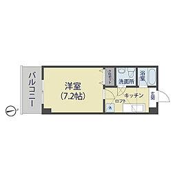メゾン朋泉高砂[1003号室]の間取り