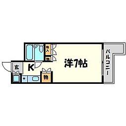 パシフィック南武庫之荘[3階]の間取り