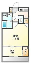 セレニテ甲子園[5階]の間取り