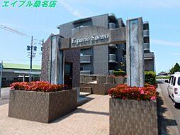 三重県桑名市大字友村の賃貸マンションの外観
