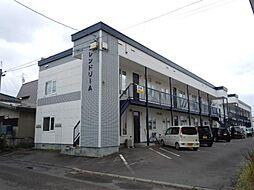 北海道旭川市亀吉二条3丁目の賃貸アパートの外観
