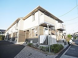 東京都足立区平野1丁目の賃貸アパートの外観