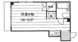 メゾンマサト 1E[1E号室]の間取り