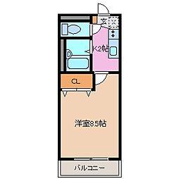 REVEUR[1階]の間取り