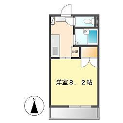 ベルハウス2[1階]の間取り