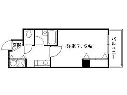 アーバンカワキ[3階]の間取り