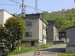 コーポ小谷B[2階]の外観