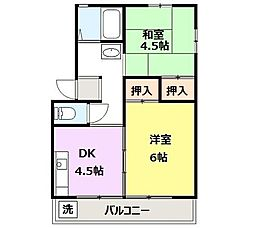 高崎昭和ビル[204号室]の間取り