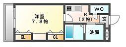 QUON[1階]の間取り