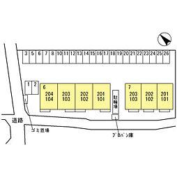 ラ・ピーノ7[2階]の外観