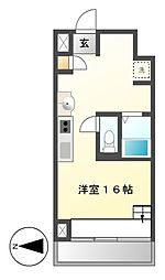S−FORT六番町[2階]の間取り