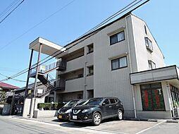 福岡県直方市知古2丁目の賃貸アパートの外観