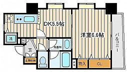 神奈川県横浜市中区末吉町3丁目の賃貸マンションの間取り
