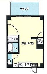 神奈川県横浜市磯子区中原3丁目の賃貸マンションの間取り