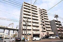 岡山県岡山市北区東島田町1丁目の賃貸マンションの外観