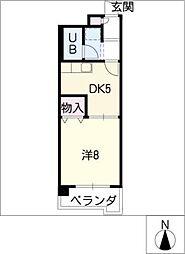 7th Ave[2階]の間取り