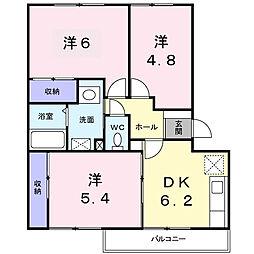 シャイニング壱番館[2階]の間取り