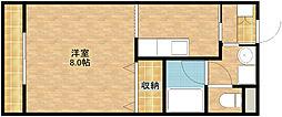 オリオンアパートメント[2階]の間取り