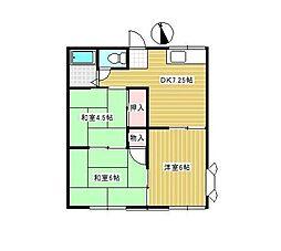 プチファミーユ・T[2階]の間取り