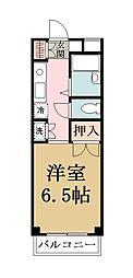 埼玉県草加市花栗1の賃貸マンションの間取り
