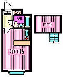 ベルピア東大宮第6-2[205号室]の間取り