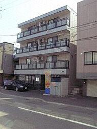 北海道札幌市白石区菊水一条1丁目の賃貸マンションの外観