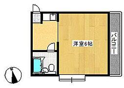 ピュアハウス塚田[1階]の間取り
