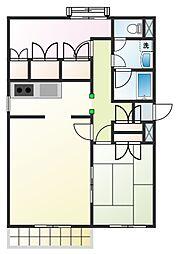 プライムコート元本郷[5階]の間取り