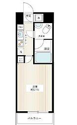 東京都港区芝公園2丁目の賃貸マンションの間取り