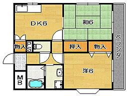 735柳ビル[3階]の間取り